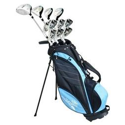Palm Springs Golf VISA V2 LADY ALL GRAPHITE Club Set & Stand