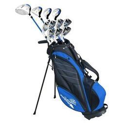 Palm Springs Golf VISA V2 MENS GRAPHITE/STEEL Club Set & Sta