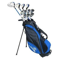 Palm Springs Golf VISA V2 MENS GRAPHITE/STEEL Club Set & Sta