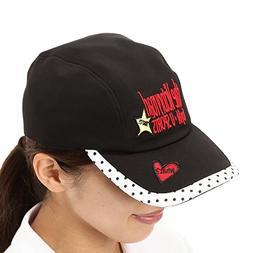 MU Sports Golf Wear Women's Hat, Black, Free Size