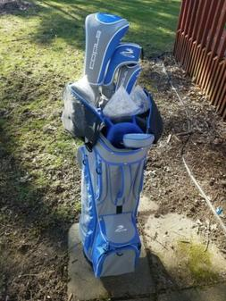 Golf Clubs Cobra, Women's Fly Z Complete Set Blue/Gray, Club