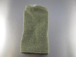 Sunfish Golf Wool Knit FAIRWAY HEADCOVER Green White Tweed K