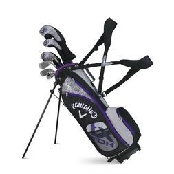 Callaway Golf XJ Hot Junior Complete Golf Set - Girls- 5-8 -