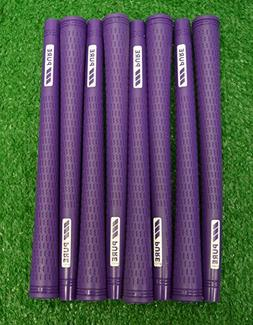 13 Pure Pro Golf Grips - Standard - Purple - Includes Free B