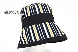 MU Sports Ladies Hat black Free size Golf Wear/Women's Vest/