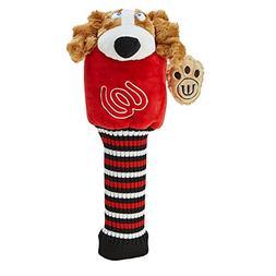 MU Sports Accessories Head Cover, Red, Medium