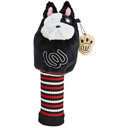 MU Sports Accessories Head Cover, Red, Medium
