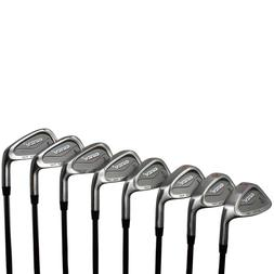 """Ginty HEAVY Golf Clubs XL Big & Tall Men's +2"""" over Iron Set"""