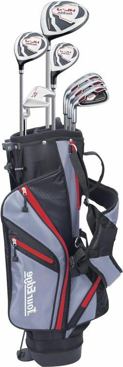 Tour Edge HL-J Junior Complete Golf Set with Bag  Red