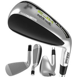 Tour Edge Men's HL3 Iron-Wood, Left Hand, Senior, Graphite,