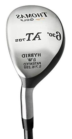 #6 Hybrid Iron  - Regular Flex Graphite - Left Handed - Mode