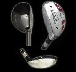IDRIVE Hybrid Irons Golf Clubs  2 3 4 5 6 7 8 9 PW SW LW - F