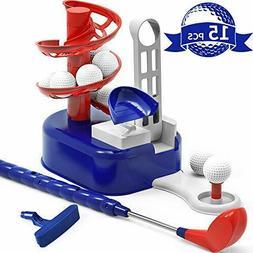 iPlay, iLearn Kids Golf Toys Set Outdoor Sport Toy,Training