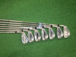 Cobra IR KING F7 CL BK Steel Regular 5-GW Golf Iron Set, Rig