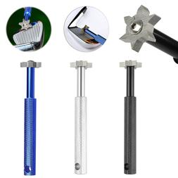 Iron Wedge Golf Club Groove Sharpener Tool With 6 Cutters Fo