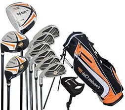 Founders Club The Judge Mens Complete Golf Set, Graphite/Ste