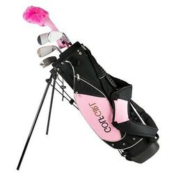 Golf Girl Junior Club Youth Set for Kids Ages 8-12 RH w/Pink