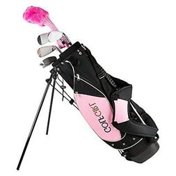 Golf Girl Junior Set for Ages 4-8 w/Pink Stand Bag RH