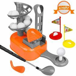 kids golf clubs toy set toddler golf