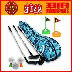 Kids Toy Golf Clubs Set Deluxe Outdoor Toddler Preschool Ear
