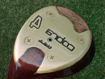 100 Oil Infused PERSIMMON Cobra USA Golf Stiff New Grip