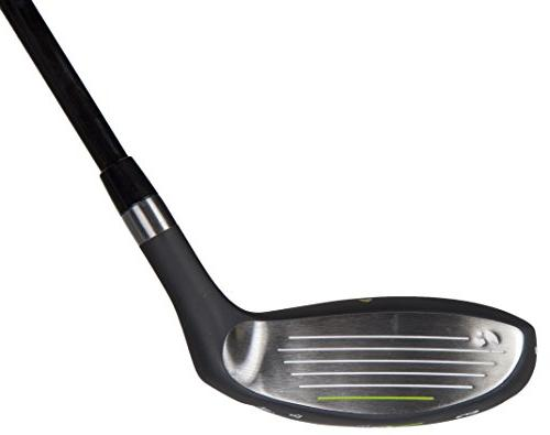 Pinemeadow Golf 12392 PGX Offset 3 Wood Driver, Black/Green, Right