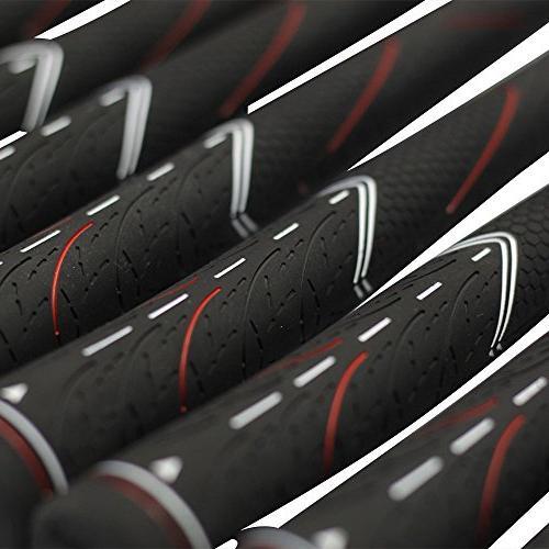 Majek All Senior Women's Golf Grips Black Tour Kit