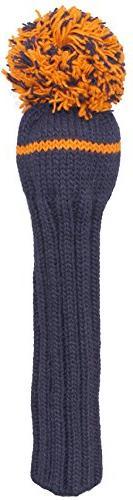 Sunfish 1Wood Headcover, Navy/Orange