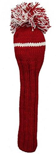 Sunfish 1Wood Headcover, Red/White