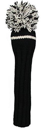 Sunfish 1Wood Headcover, Black and White