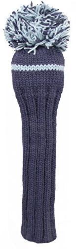 Sunfish 1Wood Headcover, Navy/Light Blue