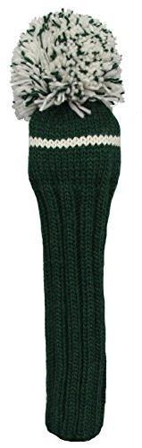 Sunfish 1Wood Headcover, Green/White