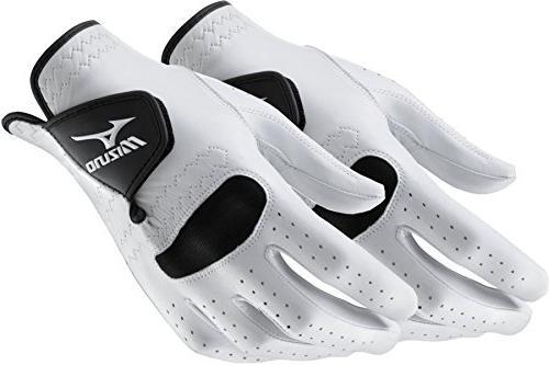 2 golf gloves regular left