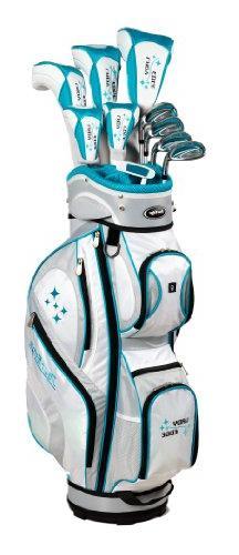 Tour Edge Women's 2014 Lady Edge Golf Full Set, Ladies Flex,