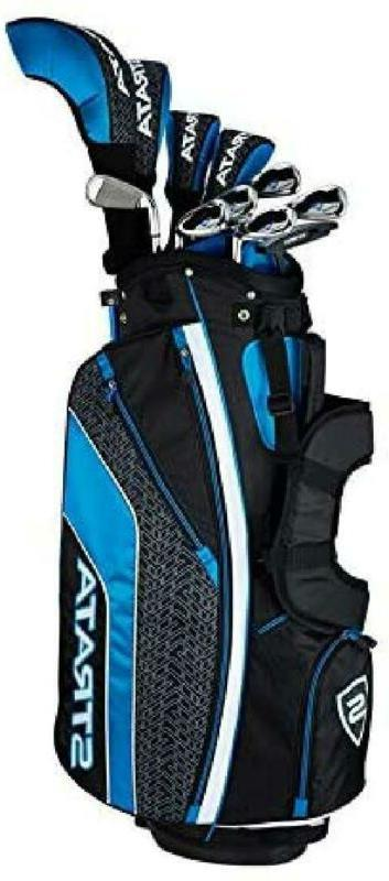 2019 Mens Strata Complete Golf Set 16-Piece Right Steel New