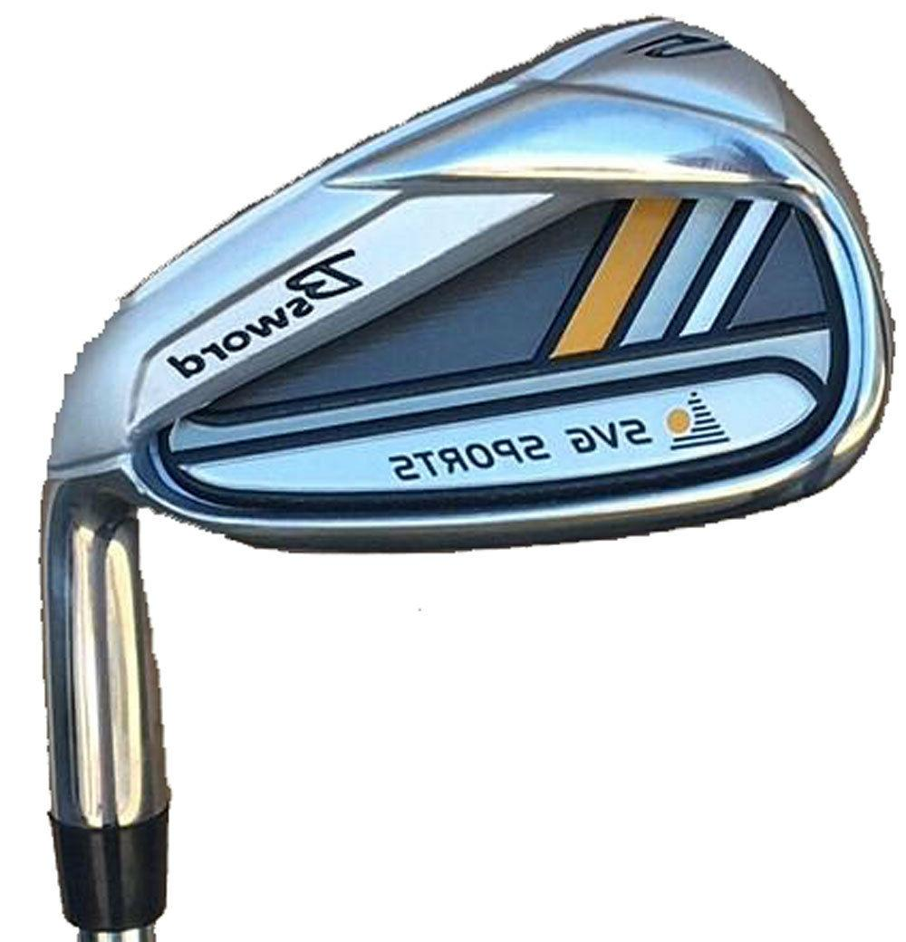 """38"""" SVG BSWORD SINGLE LENGTH IRONS MENS Golf Clubs 4-SW Stee"""