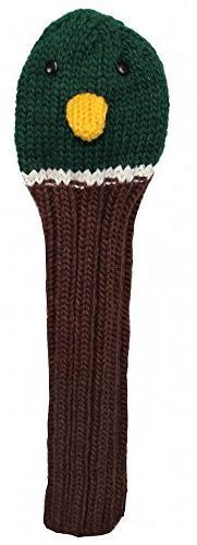 Sunfish Animal Knit Wool Driver Golf Headcover Duck