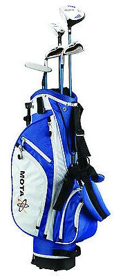 """Founders Club Atom Complete Junior Golf Set, Youth 54-63"""" Ta"""