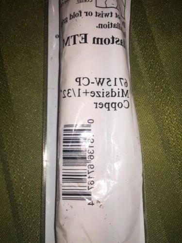 AUTHENTIC WINN 6715W-CP 1/32 MIDSIZE SOFT COPPER Grips