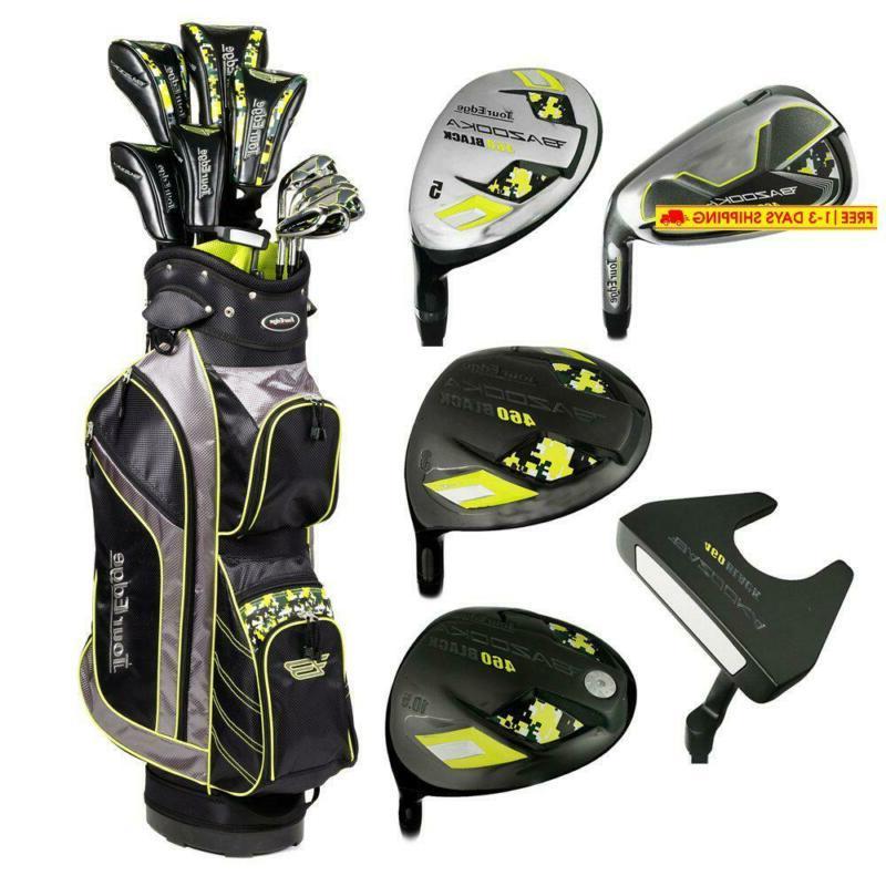 bazooka steel box full golf club set