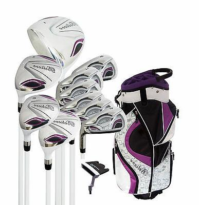 Believe Ladies Complete Golf Set by Founders Club Purple RH