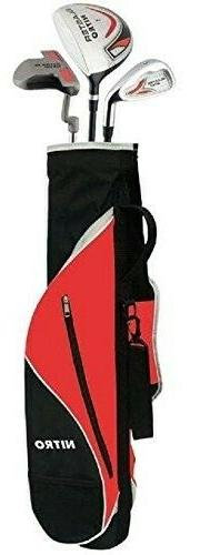 Kid's Right-Handed 8 Piece Golf Club Set - Nitro Blaster Kid