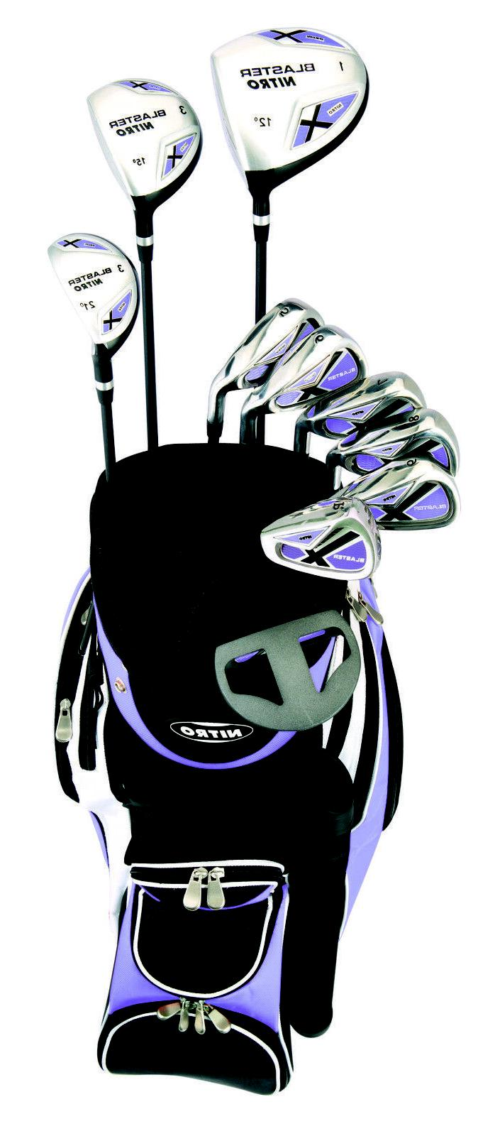 Nitro Women's Blaster Golf Set