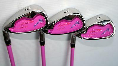 Pink Kids Golf Clubs 5-8