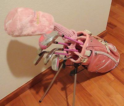 Brand Pink Girls Kids Clubs Junior Set RH
