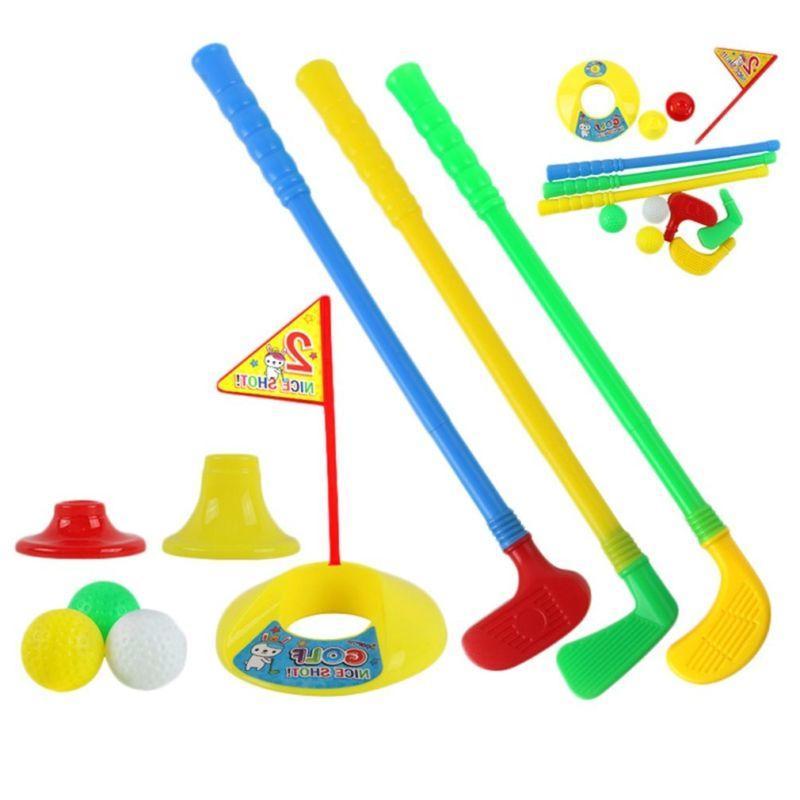 Children Leisure Golf Club Set Kid Plastic GiftUS
