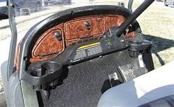 Club Car Precedent Golf Cart Custom Dash Assembly Wood Grain