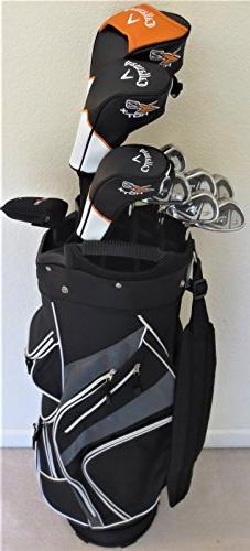 Callaway Mens Complete Golf Set - Driver, Fairway Wood, Hybr