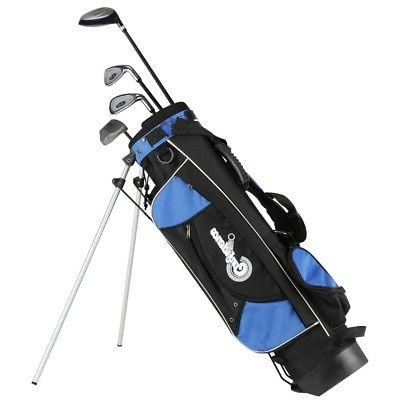 confidence junior golf club set with stand