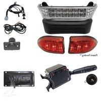 DELUXE Club Car Precedent Golf Cart Street Pkg LED Light Kit